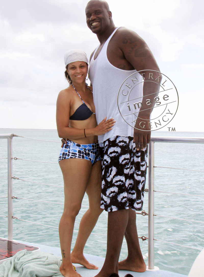 Shaq & Shaunie O'Neal spend some time in Turks & Caicos with the