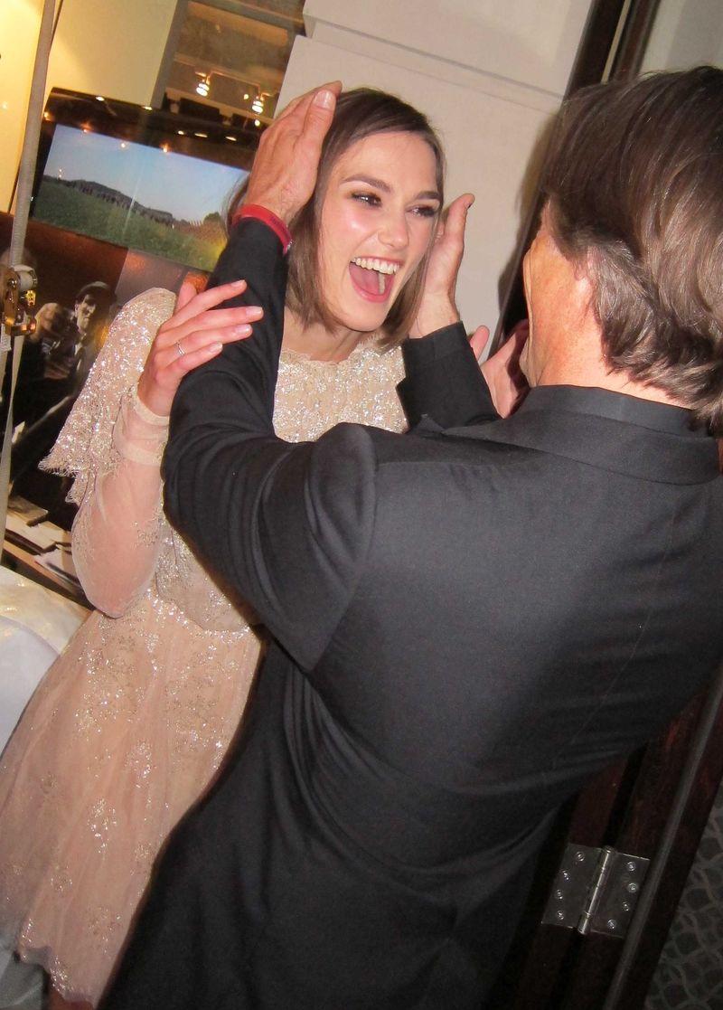 Keira Knightley & Viggo Mortensen at Sony Pictures Classics Party in ... Antonio Banderas