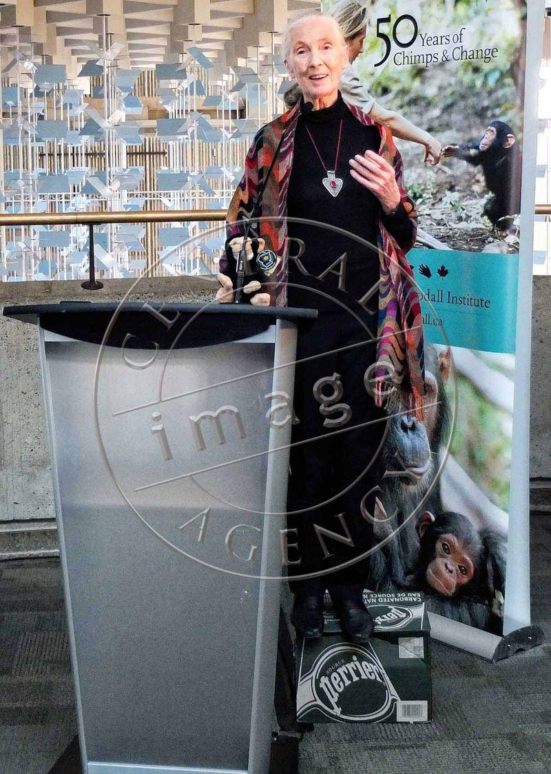 CIA Jane Goodall Perrier