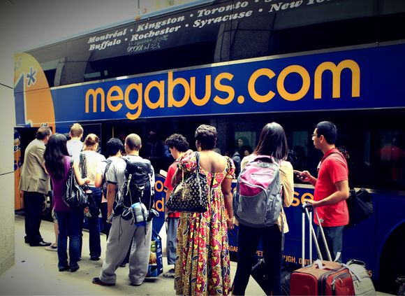 Montreal Mega Contest :: Megabus ride and win !