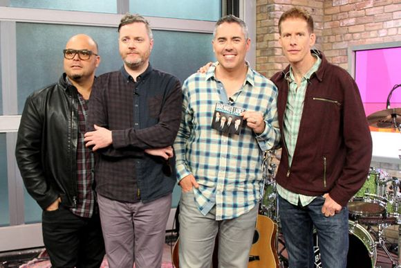 Barenaked stop by the Marilyn Denis show.