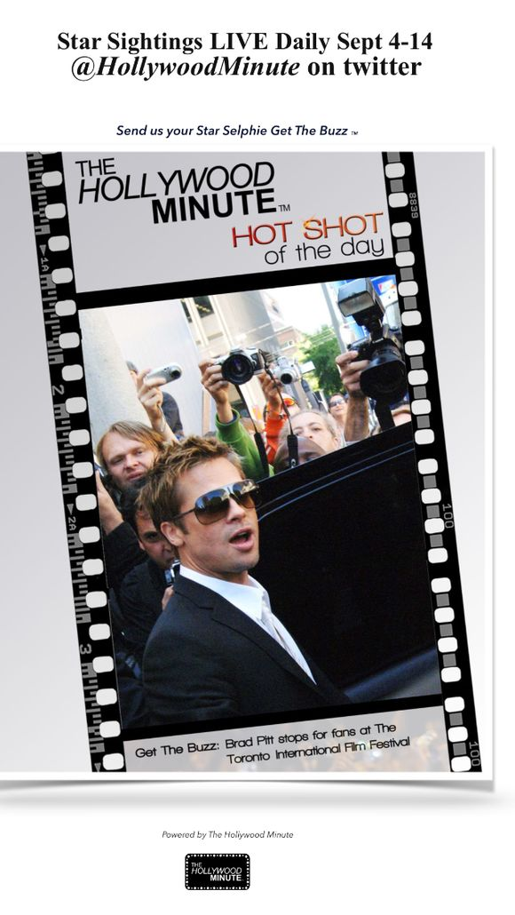 LIVE Starsightinga from this years film festival sept 4-14 @Hollywoodminute
