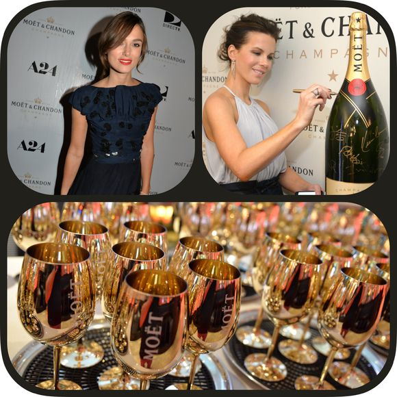 Always at the right place at the right time Moët & Chandon hit the mark!